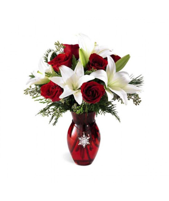 The Season's Greetings Bouquet